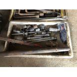 Air Tool ¾ air gun, T bars and sockets