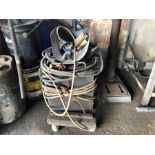 The Cambridge V1 3ph oil cooled arc welder with mask - failed PAT test
