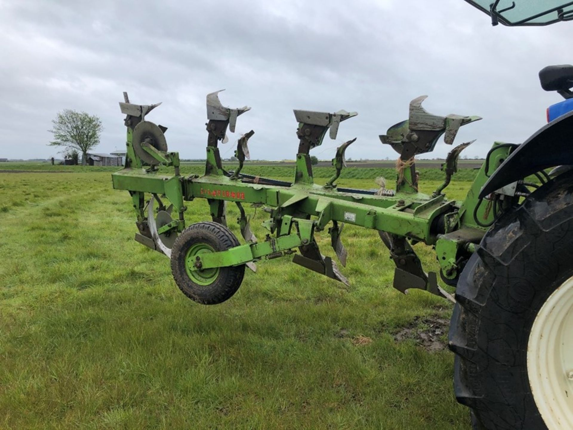Dowdeswell DP7C 4F reversible plough, 3+1 frame, serial no: 514341496, manual in office - Image 3 of 3