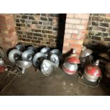 Approx 50 pig heat lamps with bulbs - Failed safety test
