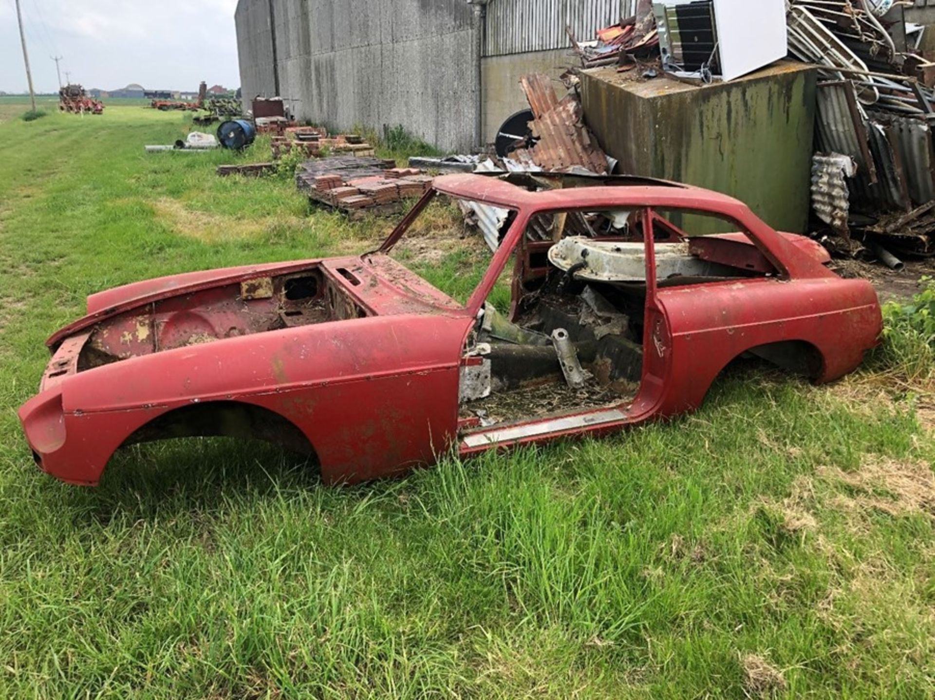 MG BGT car body