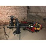 (13) Big Cutter SMI 200E offset flail mower, serial no: 090374, manual in office
