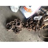 Pair of tow chains