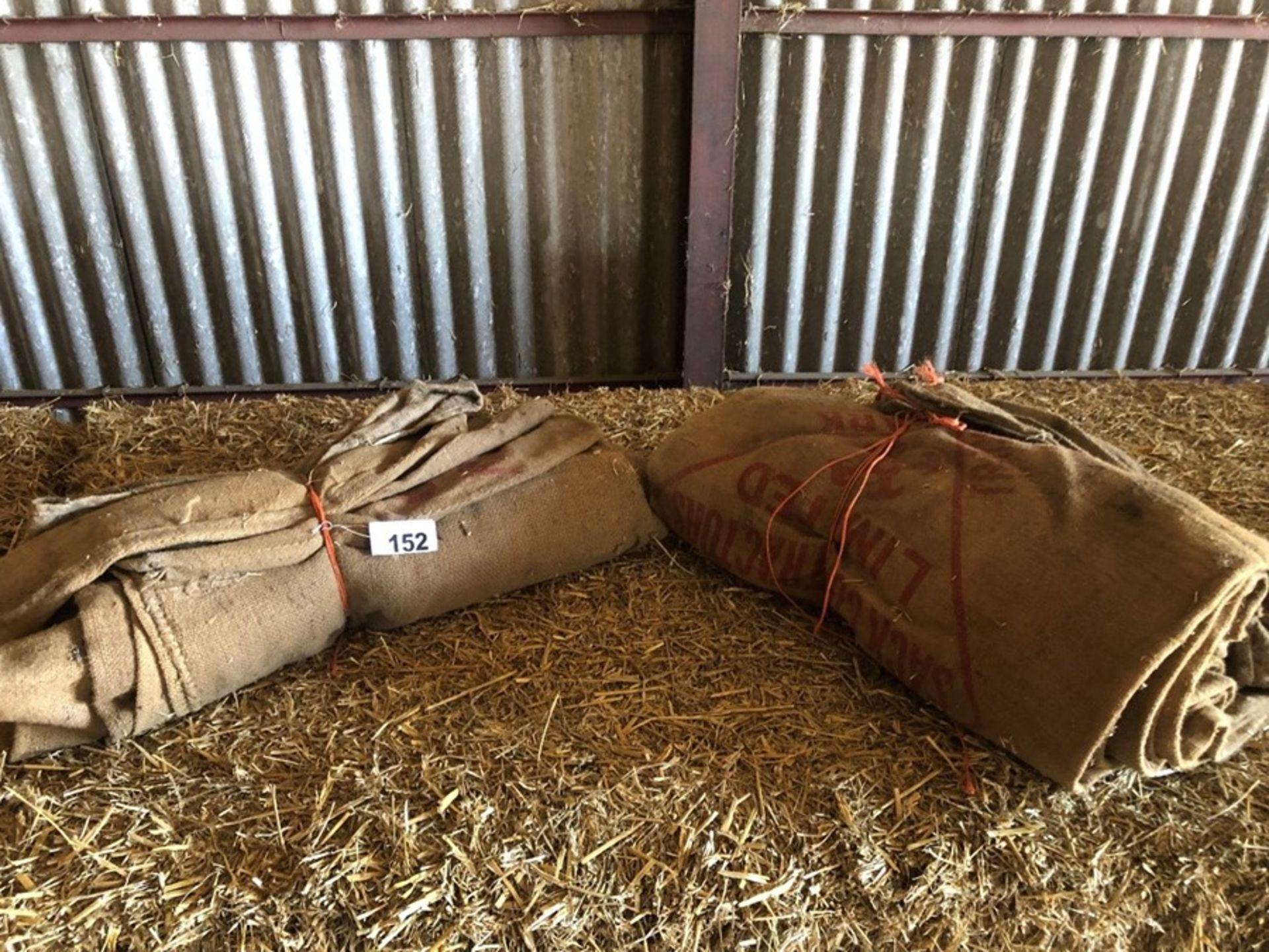 Qty hessian sacks - Image 2 of 2