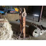 E J Tong & Sons sack winding barrow