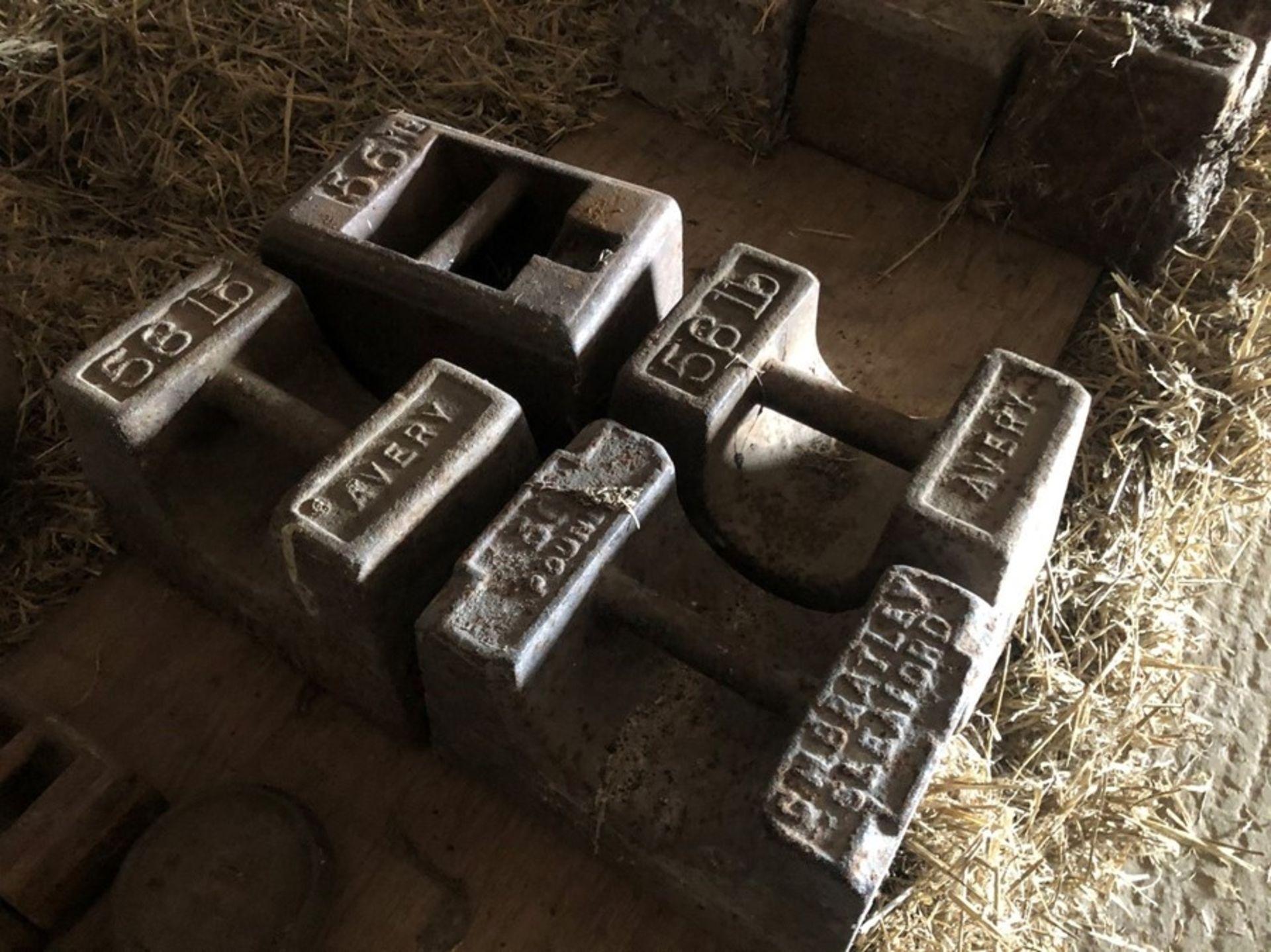 Qty 56lb weights