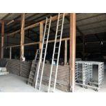 Clima 14 stave aluminium ladder