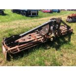 Maschio 4m power harrow with crumbler roller