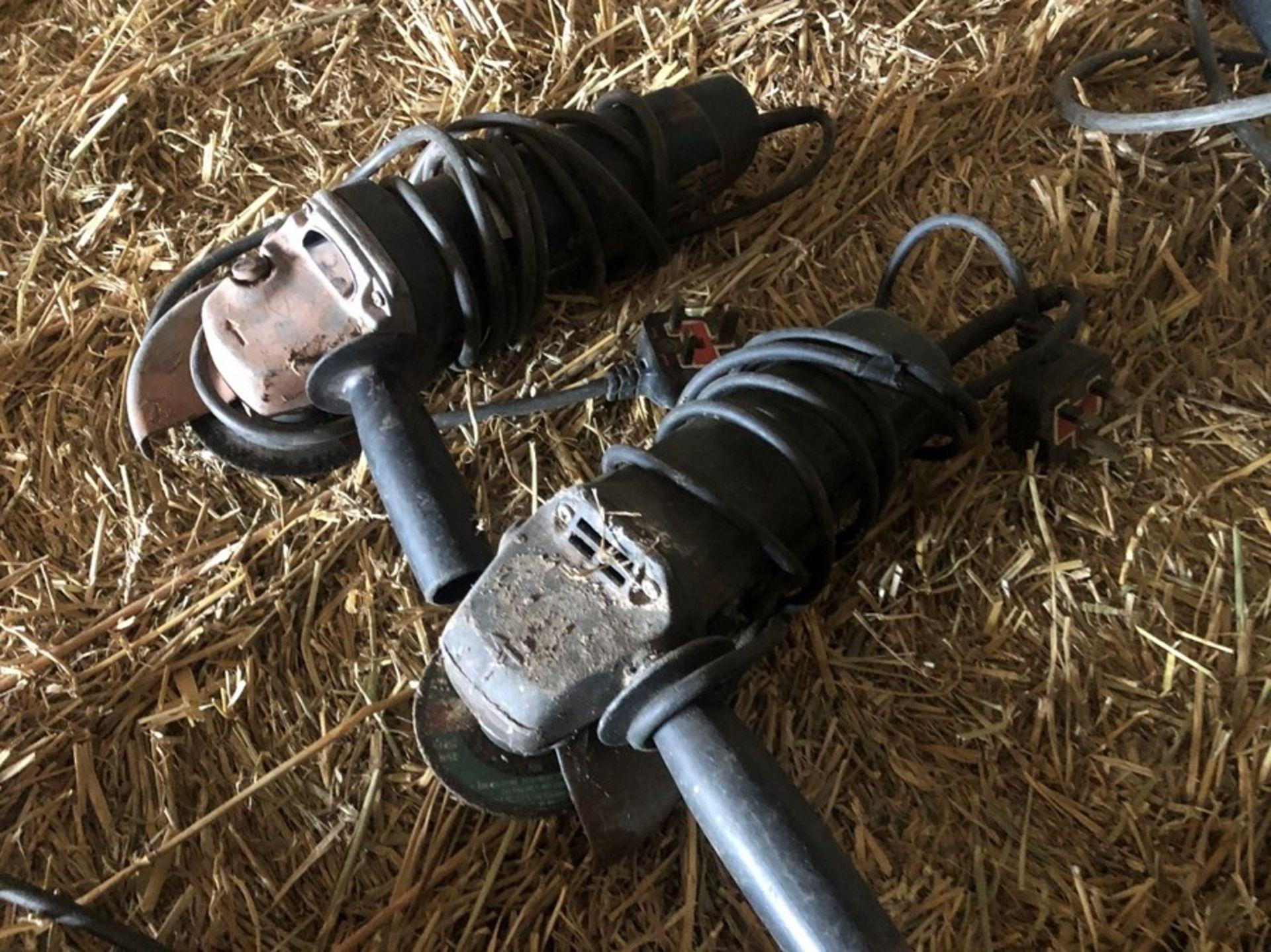 Bosch GWS & Bosch PWS angle grinders - Failed PAT test