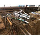 Qty vintage hand tools