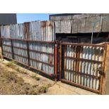 1 large & 1 small livestock gate