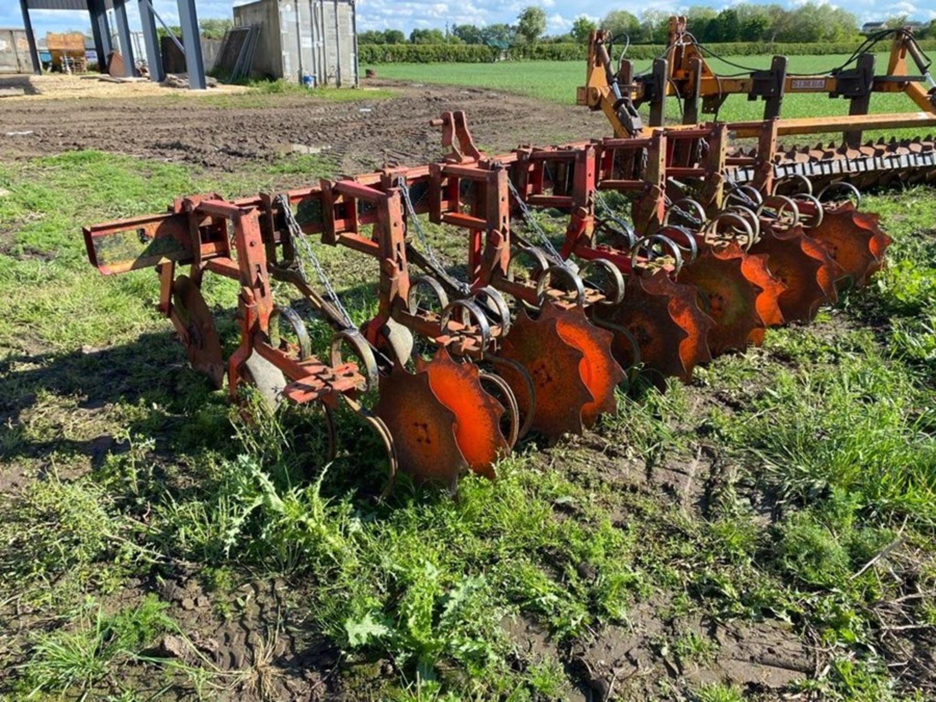 Kongskilde 6 row Vibro Beta interrow cultivator