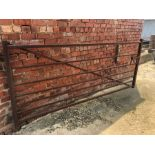 9ft 3in metal livestock gate (Buyer to dismantle)