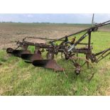 Ransome 3F mid-track plough