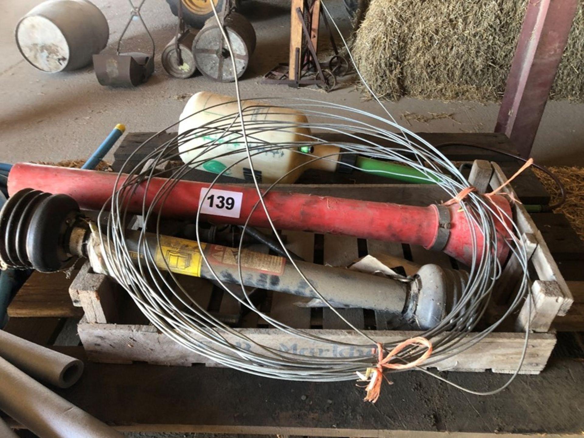 Tray of pins & shackles & PTOs