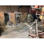 Vicon Lely acrobat hay turner with quantity of spare tines
