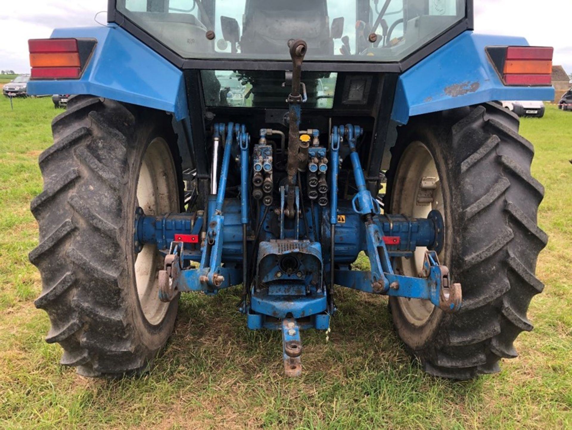 (94) Ford 7840 Powerstar SL 2wd tractor, 4,551 hours, dual power. air con, Reg L56 UVL, Rear 13.6 - Image 11 of 11