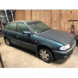 (90) Vauxhall Astra car 85,567 miles, automatic, petrol, Reg R530 ECT, one owner, 1 key in office