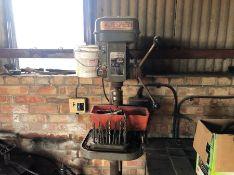 Truespeed pillar drill with various drill bits - Passed PAT test