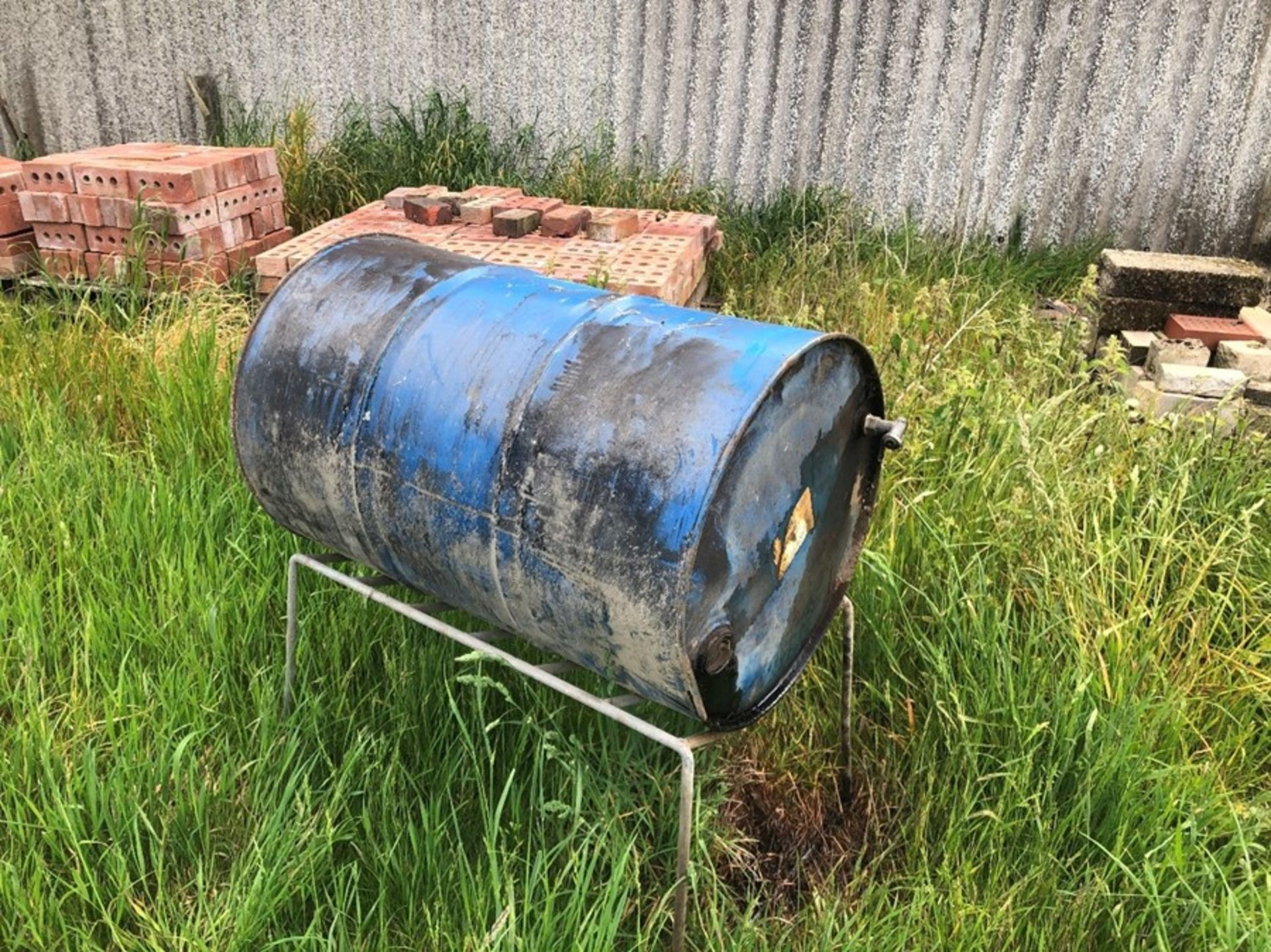 Barrel of creosote