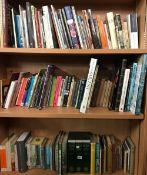 3 SHELVES OF HARDBACK & PAPERBACK BOOKS