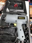 BOXED COUGAR 12V IMPACT WRENCH WITH SOCKETS ETC