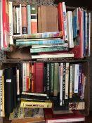 2 CARTONS OF HARDBACK BOOKS, GARDENING, INSECTS ETC