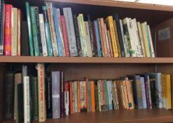 3 SHELVES OF HARDBACK & PAPERBACK BOOKS INCL; ART, HISTORY ETC