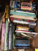 5 CARTONS HARDBACK & SOFT BACK BOOKS