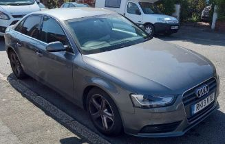 AUDI A4 TECHNIK TDI VEHICLE REG: RK13 VTE - DIESEL COLOUR GREY, MOT 4TH MARCH 2022 MILEAGE :91545