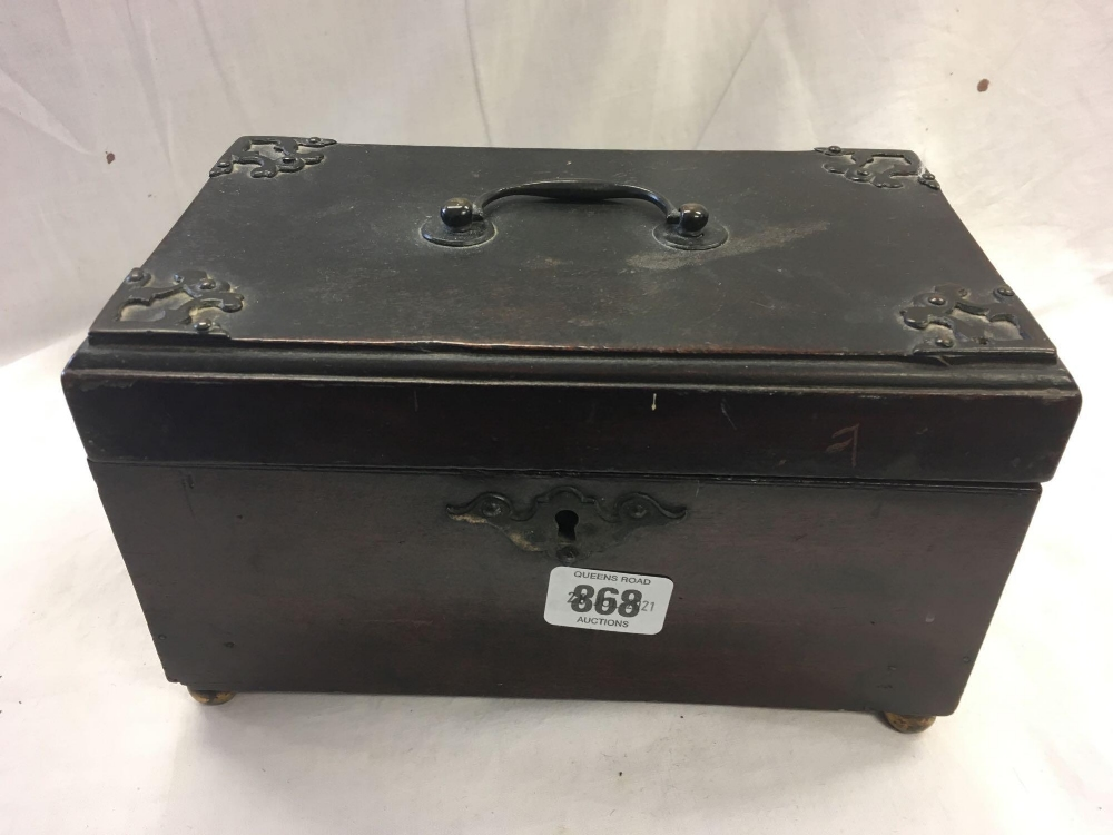 TWO WOODEN CASKETS - 1 INCL; VARIOUS EMPTY PURSES - Image 2 of 6