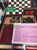 BOXED SET OF CHESS & DRAFTS