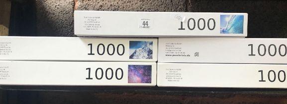 5 X 1000 PIECE LAIS PUZZLES