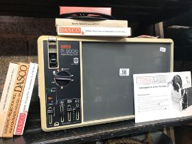 EG R2000 INSTA PROJECTOR WITH VARIOUS FILM TAPES