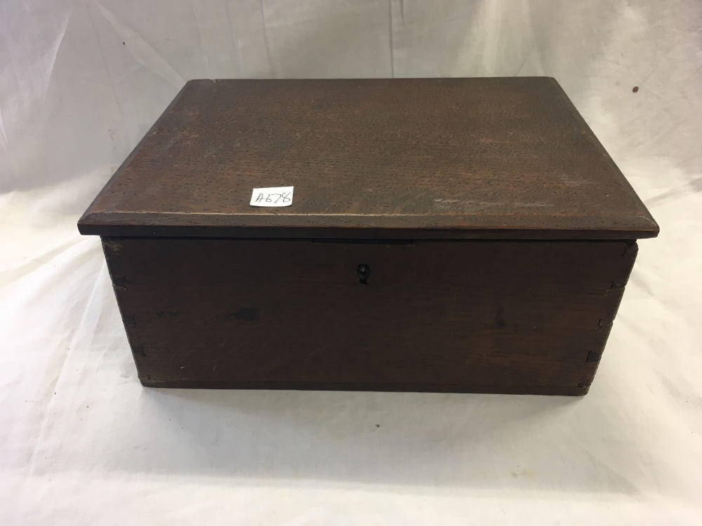TWO WOODEN CASKETS - 1 INCL; VARIOUS EMPTY PURSES - Image 4 of 6