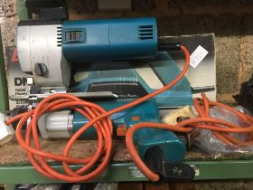 BLACK & DECKER POWER DRILL, DN750 PLANER & A JIG SAW