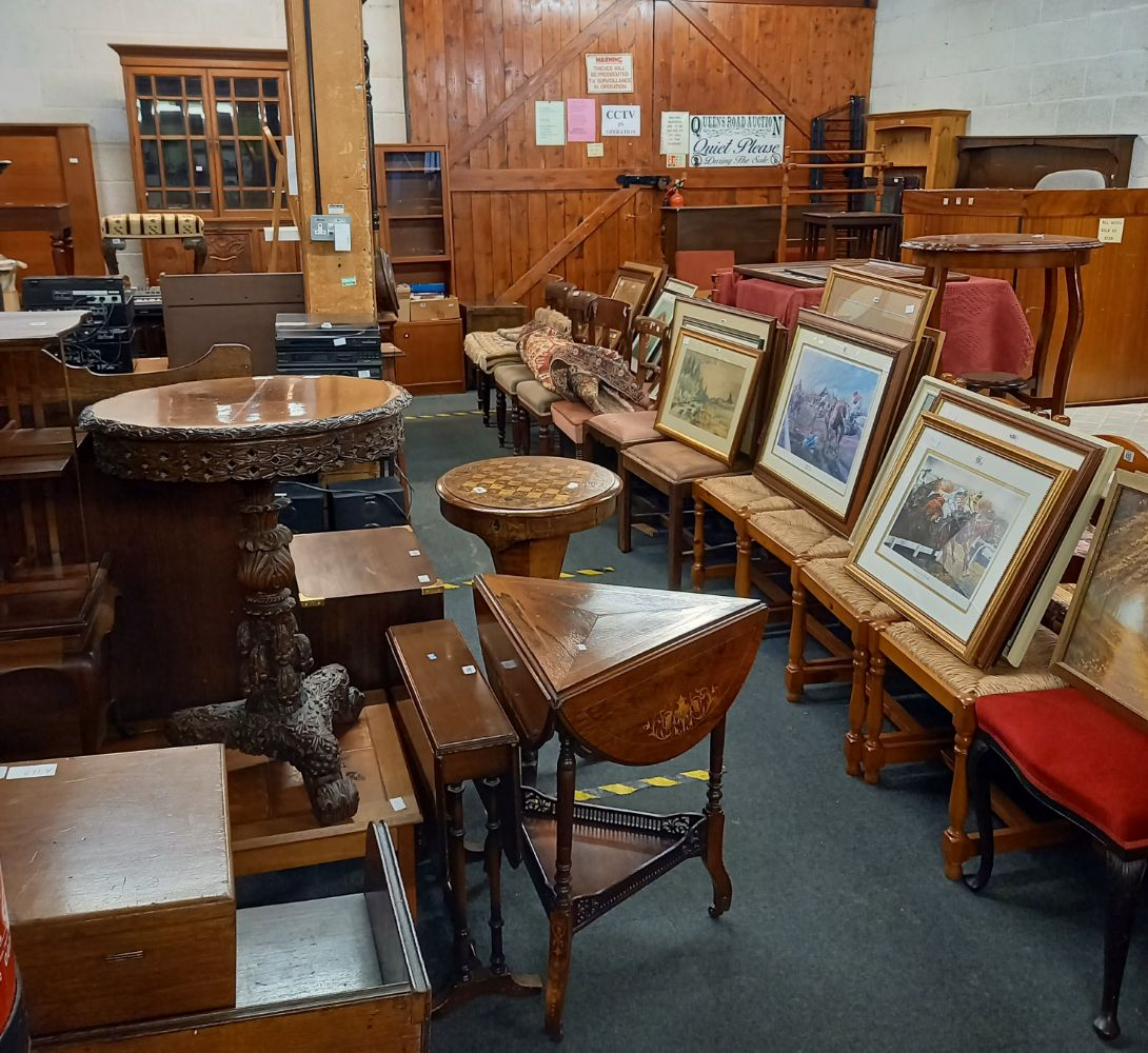 Whitton & Laing - Queens Road Auctions -  General Furnishings -Antique & Modern Furnishings, Silver, Jewellery, Coins & Collectables