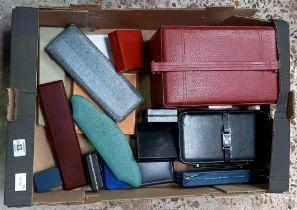 CARTON OF JEWELLERY BOXES