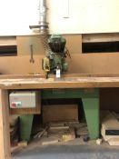 Wadkin Bursgreen BRA-A Radial Arm Crosscut Saw