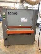 SCM Uno Through-Feed Wide Belt Sander