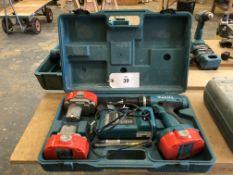 Makita 8390D Professional Cordless 18V Drill Set