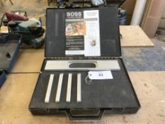 SOSS Aluminium Routing Jig with Slot-in Templates