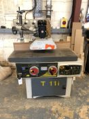 CMC T11i Spindle Moulder with Maggi Steff 2034 Power Feed Unit