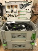 Festool Domino DF 500 Q-Plus GB Joining Machine with Domino Sortiment