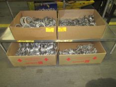 Assorted Stainless Pipe Clamps