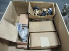 Assorted Brass & Stainless Valves