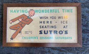 """Having Wonderful Time - Wish You Were Here"" - Sutro's Baths Poster"