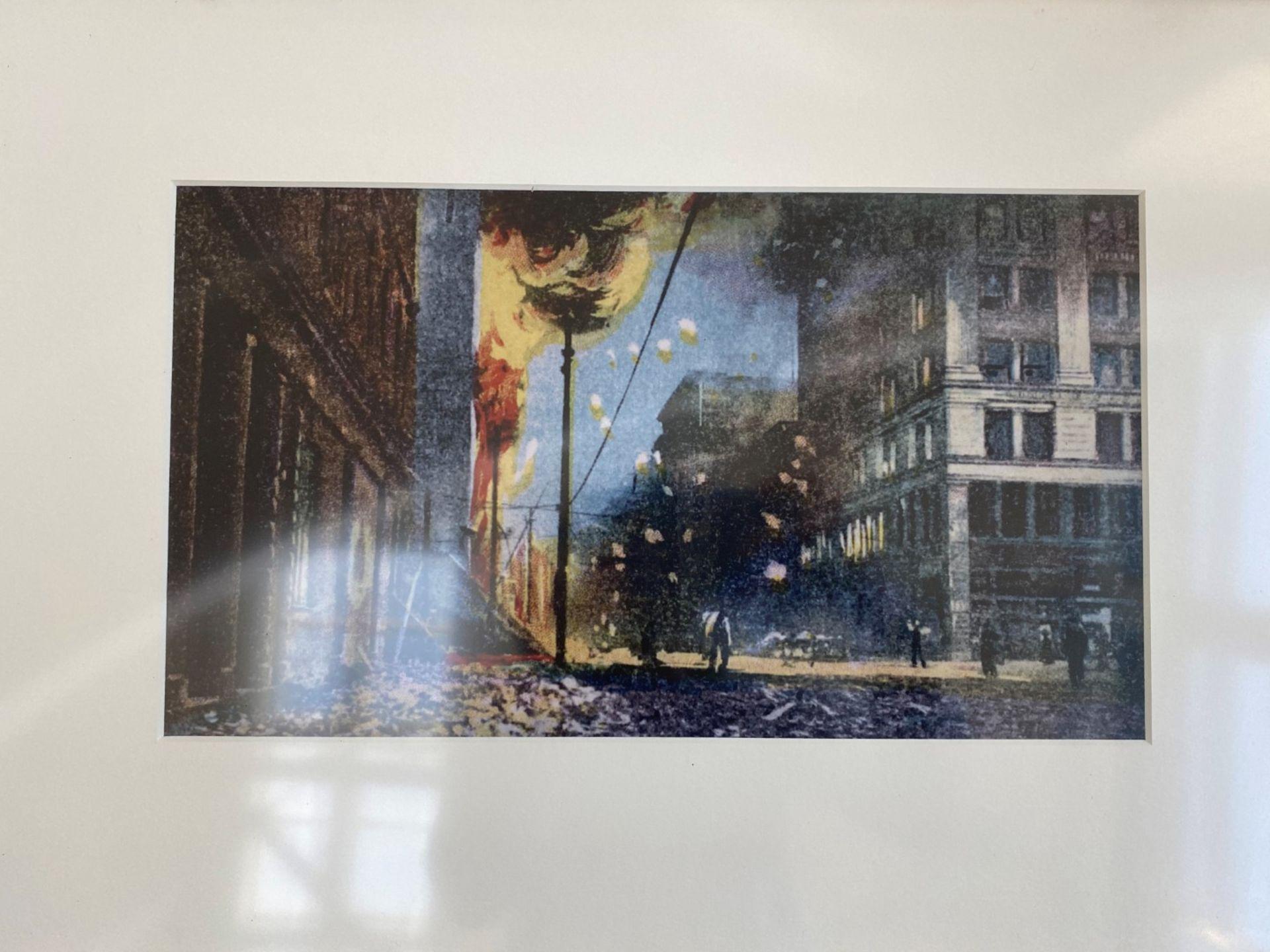 Framed Sketch Prints - Image 2 of 8