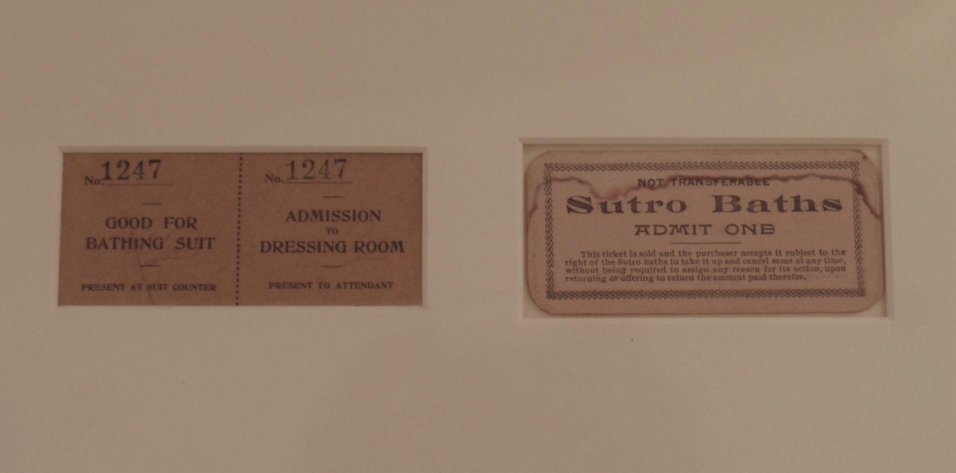 Framed Sutro Baths - Framed Mementos - Image 6 of 8