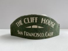 Vintage Original Cliff House Felt Cap